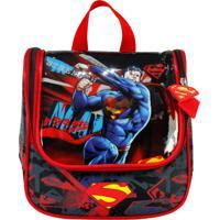 Lancheira Superman La32215Sm Vermelha