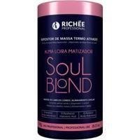 Máscara Repositora De Massa Richée Professional Soul Blond -Termo Ativado 1Kg - Unissex-Incolor