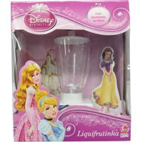 Liquidificador Liquifrutinha - Branco - Princesas Disney - Líder - Feminino-Incolor