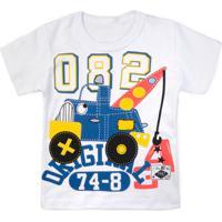 Camiseta Bebê Guincho Branco - Pollo Sul-2