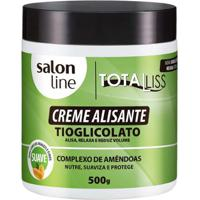 Creme Alisante Salon Line - Total Liss Normal Pote - 500Gr - Unissex-Incolor