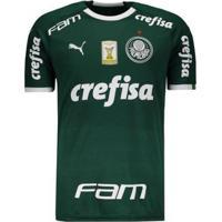 Camisa Puma Palmeiras I 2019 Com Patch Masculina - Masculino