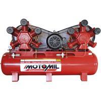 Compressor De Ar 30Hp Trifásico 175 Psi Mawv-120/500 Motomil