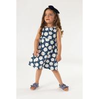 Vestido Up Baby Infantil Azul