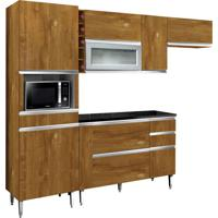 Cozinha Compacta Village 9 Pt 4 Gv Caramelo