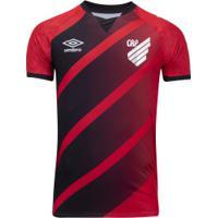 Camisa Do Athletico-Pr I 2020 Umbro - Masculina - Vermelho/Preto