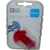 Prendedor De Chupeta Mam Crystal Girls Ref: 3916