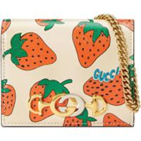 Gucci Porta-Cartões Gucci Zumi - Branco
