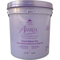 Avlon Affirm Creme Alisante Hidróxido De Sódio Resistente Plus 1,8 Kg - Feminino