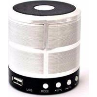 Caixa De Som Bluetooth Recarregável Mini Speaker Portátil Usb Micro Sd - Unissex