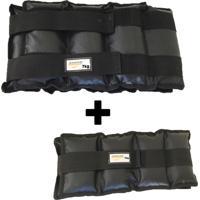 Kit Par De Caneleiras 7 Kg + 1 Toalha Gelada Ice Towel