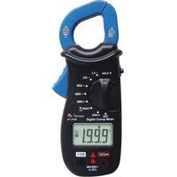 Alicate Amperimetro Digital Minipa Ac Cat Ii Et3100 Azul/Preto
