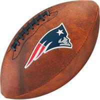 Bola De Futebol Americano Wilson Throwback Nfl Jr. New England Patriots - Unissex