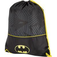 Gym Sack Liga Da Justiça Batman - Preto
