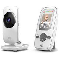 """Babá Eletrônica Motorola Mbp481, Tela De 2"""", Alcance De Até 300M Com Visor Colorido E Visão Noturna"""