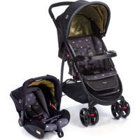 Carrinho De Bebê Travel System Nexus Cosco Preto