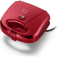Sanduicheira E Minigrill Multilaser 750W Vermelha 220V Ce149