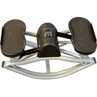 Balance Stepper - Preto & Cinza Claro - 26X50X27Cm