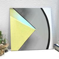 Placa Decorativa - Yellow Angle