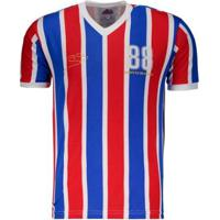 Camisa Bahia 1988 Retrô N°8 Masculina - Masculino