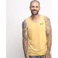 Camiseta Regata Oakley Dynamic Masculina - Masculino-Amarelo