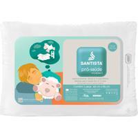 Travesseiro Pró-Saúde Crescidinhos- Branco- 65X45Cm