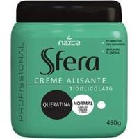 Creme Alisante Sfera Queratina Normal 480 G