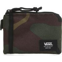 Carteira Vans Pouch Wallet Verde/Marrom