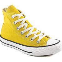 Tênis Infantil Converse All Star Chuck Taylor Hi Masculino - Masculino-Amarelo
