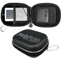 Estojo Rígido Cables Unlimited Com Alto-Falante Para Smartphone, Iphone, Ipod E Mp3/Mp4 Player - Tricae
