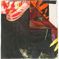 Paul Smith Echarpe Floral - Vermelho