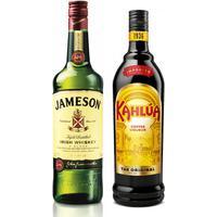 Kit Licor Creme De Café Kahlúa 750Ml + Whiskey Jameson 750Ml Kit270