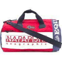 Napapijri Sarov Colour Block Duffle Bag - Azul