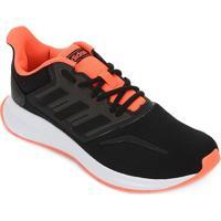 Tênis Adidas Run Falcon Masculino - Masculino-Preto+Laranja