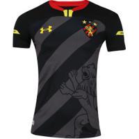... Camisa Do Sport Recife Iii 2019 Under Armour - Masculina - Preto Amarelo 6a5df7207bcd6