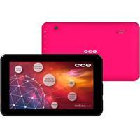 "Tablet Cce Motion Tr72P Rosa - Wi-Fi - Câmera 2Mp - Tela 7"" - Android 4.2"