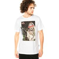 Camiseta Drop Dead Mothafacka Branca
