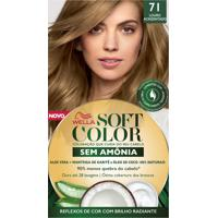 Tintura Soft Color Sem Amônia Louro Acinzentado 71 Kit