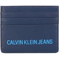 Carteira Porta Cartão Couro Calvin Klein Reissue - Masculino