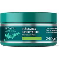 Máscara Lowell Cacho Mágico Umectante 240G - Unissex-Incolor