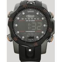 Relógio Cronógrafo Speedo Masculino - 11005G0Evnp5 Preto - Único
