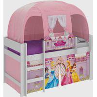 Cama C/ Barraca C/3 Vol Pura Magia Disney Princesas Branca