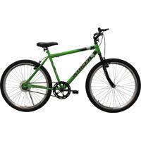 Bicicleta Aro 26 Mtb Sem Marcha Legacy Masculina Verde Athor Bike