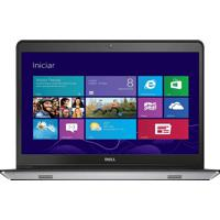 "Notebook Dell Inspiron I14-5447-A10 - Prata - Intel Core I5-4210U - Ram 4Gb - Hd 1Tb - Tela 14"" - Windows 8.1"