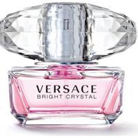 Perfume Bright Crystal Feminino Versace Edt 50Ml - Feminino-Incolor