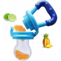 Alimentador De Silicone Azul - Girotondo Baby