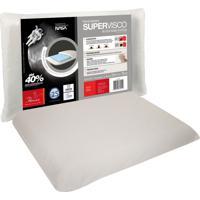 Travesseiro Fibrasca Supervisco Nasa Block Base System Branco