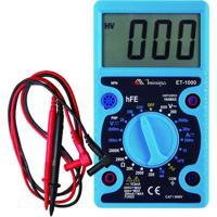 Multímetro Digital Minipa Et-1000 600V Azul