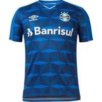 Camisa Umbro Grêmio Oficial Iii 2019 Plus Size Masculina - Masculino