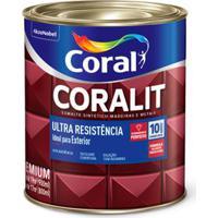 Esmalte Sintético Alto Brilho Coralit Ultraresistência Creme 900Ml Coral